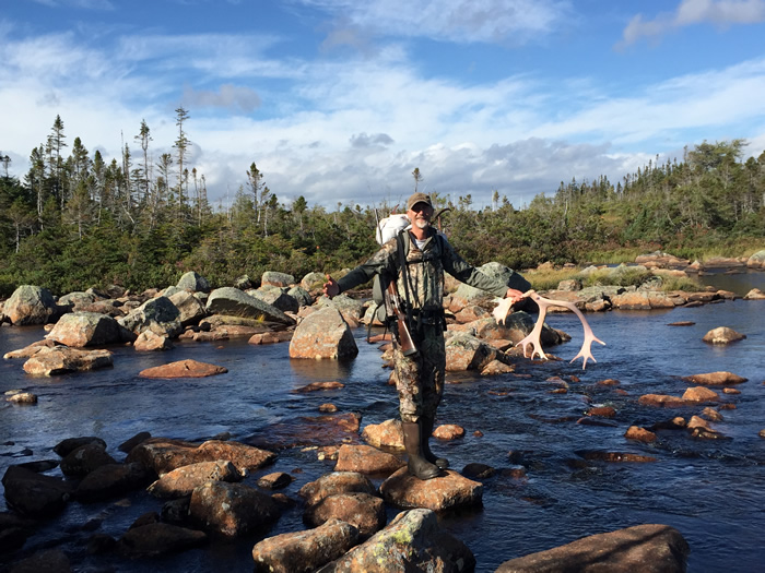The Terrain For Hunting In Newfoundland Spruce Pond Hunting